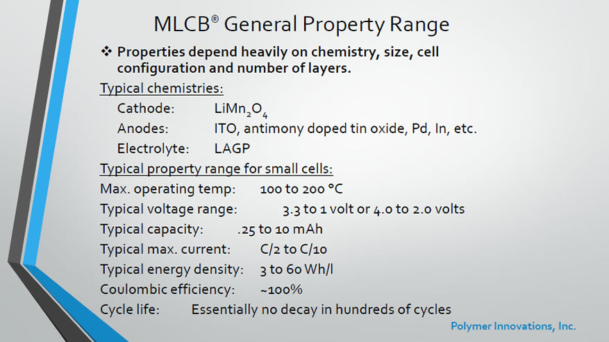 MLCB General Property Range